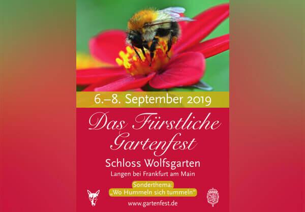 Fürstliches Gartenfest in Schoß Wolfsgarten