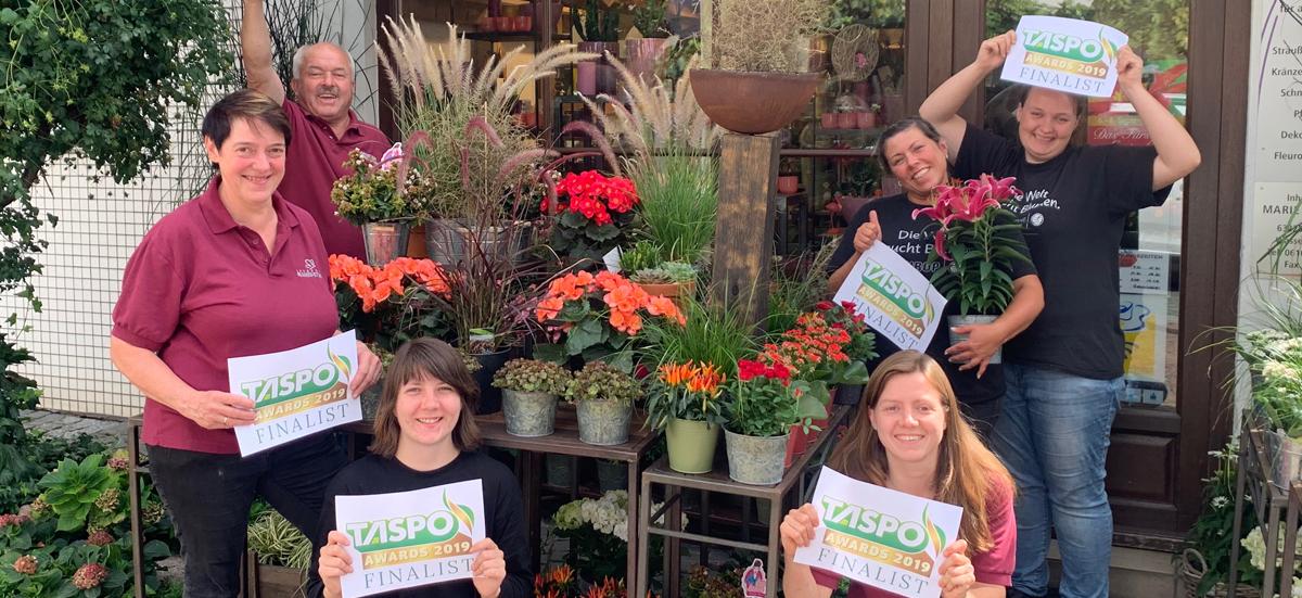 Das Blumen-Stubb-Team Symbolbild